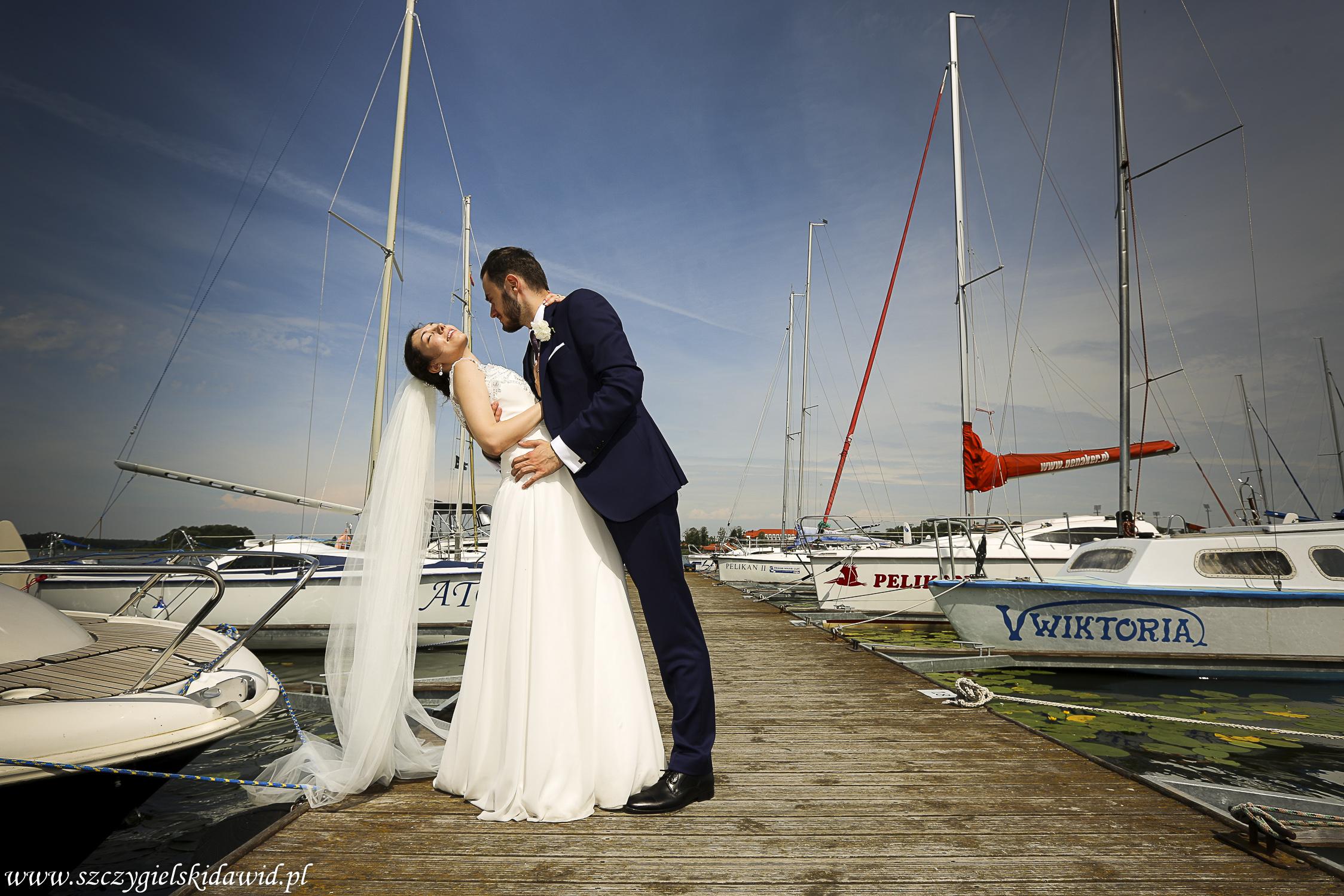 Ola i Bartek ślubnie