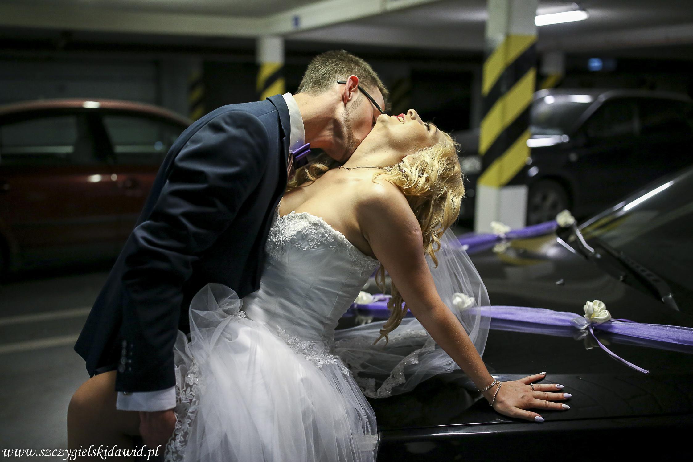 Aleksandra i Damian ślubnie