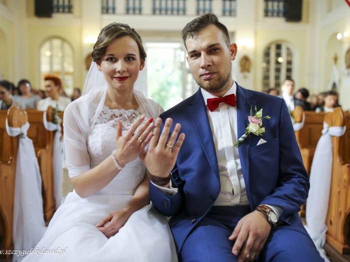 Kasia i Mateusz ślubnie