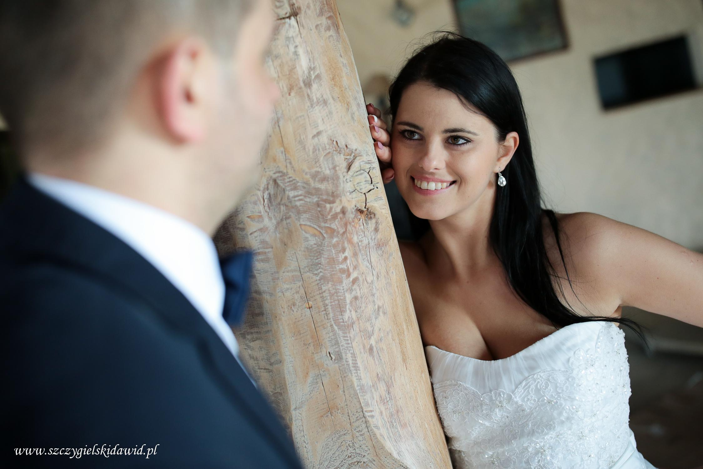 Marta i Mateusz ślubnie