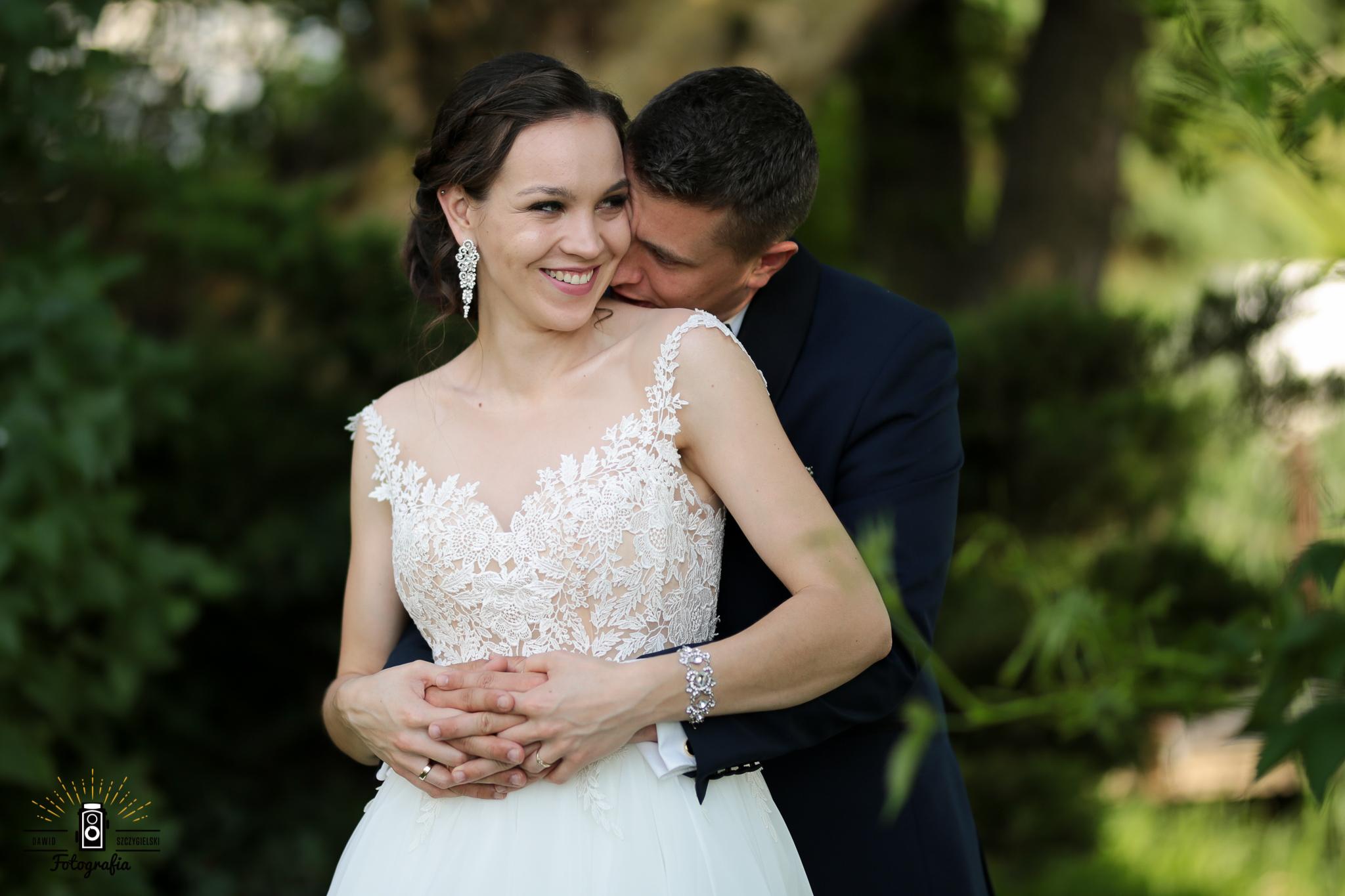 Karolina i Marcin ślubnie