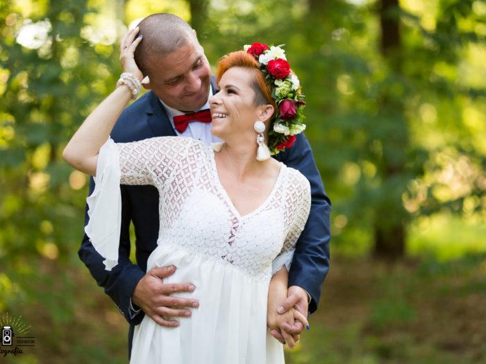 Ewelina i Marcin ślubnie