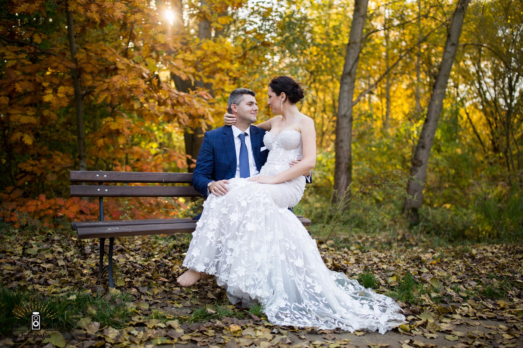 Beata i Bartek ślubnie
