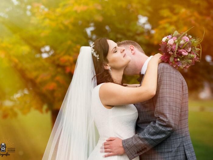 Edyta i Bolek ślubnie.