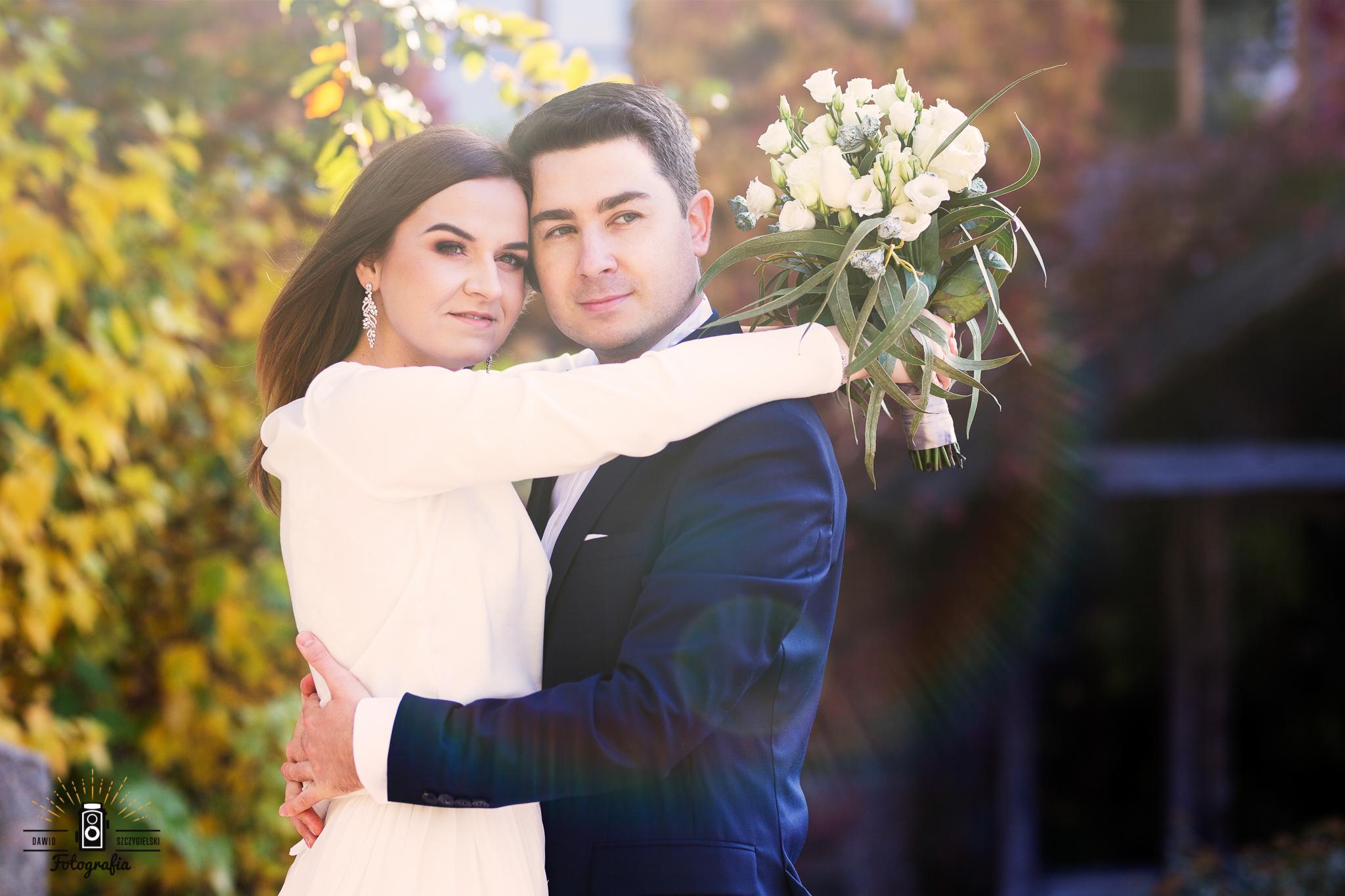 Ewelina i Darek ślubnie
