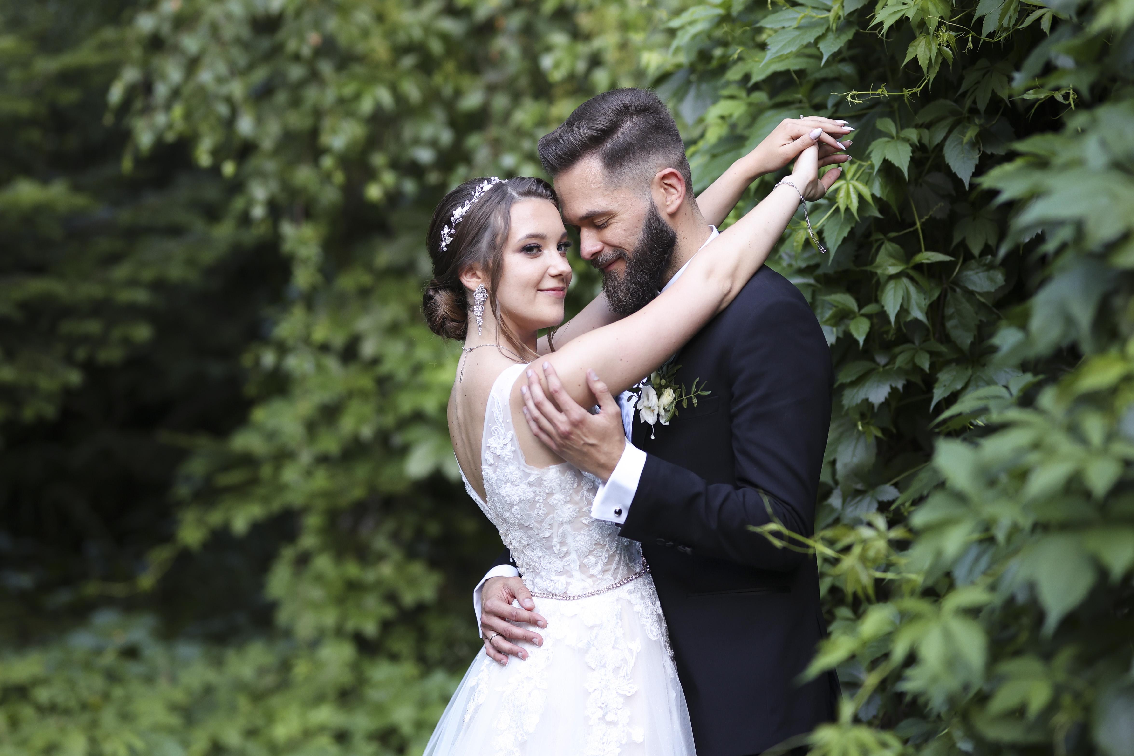 Monika i Kamil ślubnie